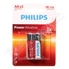 Baterie Power Alkaline AA PHILIPS LR6P2B-10 2ks