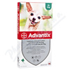 Advantix pro psy spot. on. do 4kg a. u. v. 4x0. 4ml