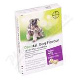 Drontal Dog Flavour 150-144-50mg psy tbl. 2