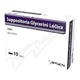 Suppositoria Glycerini Léčiva 2. 06g sup. 10