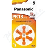 Panasonic PR13(PR48) baterie do naslouchadel 6ks
