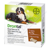 Drontal Dog Flavour XL 525-504-175mg tbl. 2