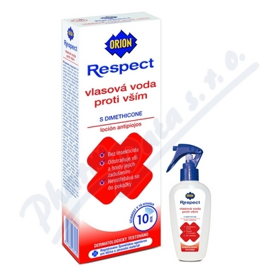 Orion respect vlasová voda proti vším 100ml