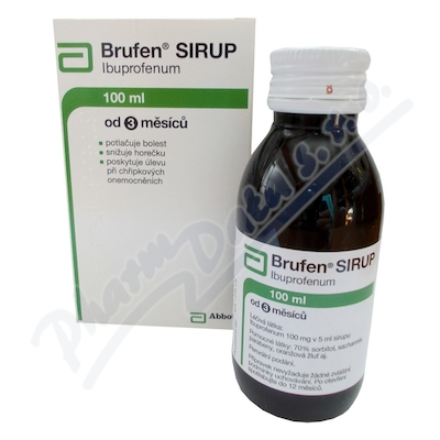 Brufen sirup sir.1x100mlx20mg-ml I