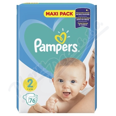 PAMPERS New Baby 2 Mini 76ks