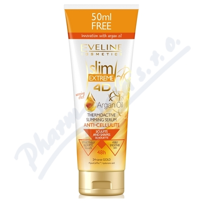 EVELINE SLIM 4D Argan Termo sérum 250ml