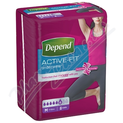 Depend Active-Fit inkont.kalh.ženy vel.M 8ks
