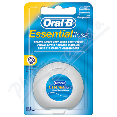 Oral-B dent.nit EssentialFloss Mint Wax 50m