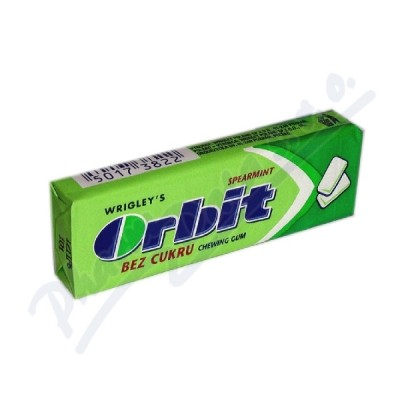 WRIGLEYS Orbit Spearmint drg.žvýkačky 10ks