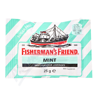 Fishermans Friend bonbóny dia mint-zelené 25g